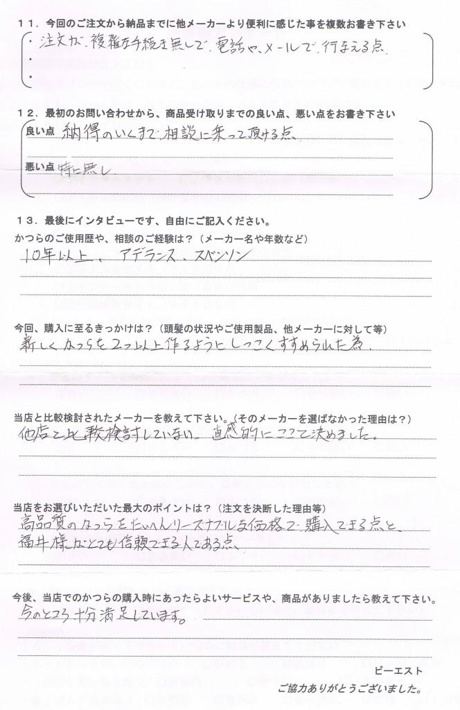 京都府40代(AD社15年使用)