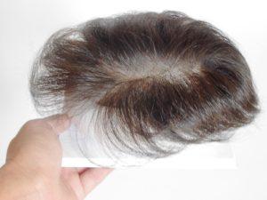 かつらの周囲の毛の長さ