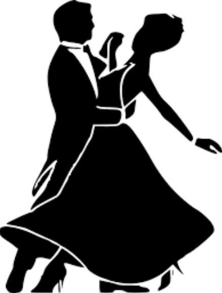 オールバックのかつらでダンス