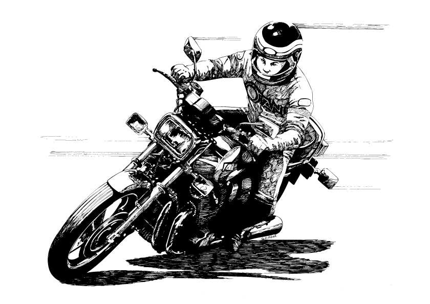大型バイクが趣味