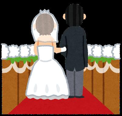 結婚式で初めてのかつら